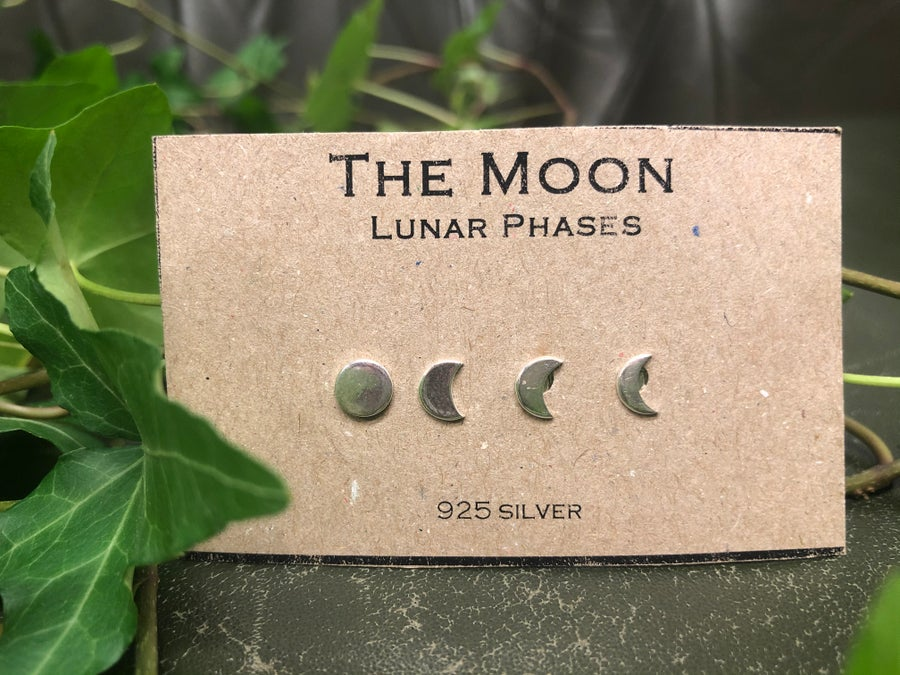 Image of Moon phase earrings