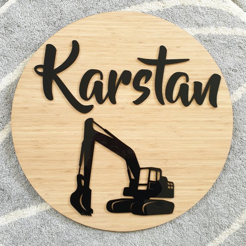 Image of Large Round Sign