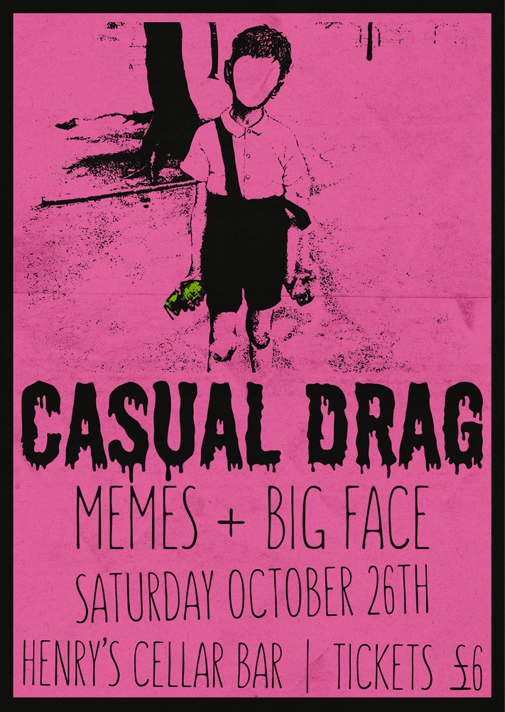 Image of Casual Drag: Live at Henry's Cellar Bar EDINBURGH - TICKET
