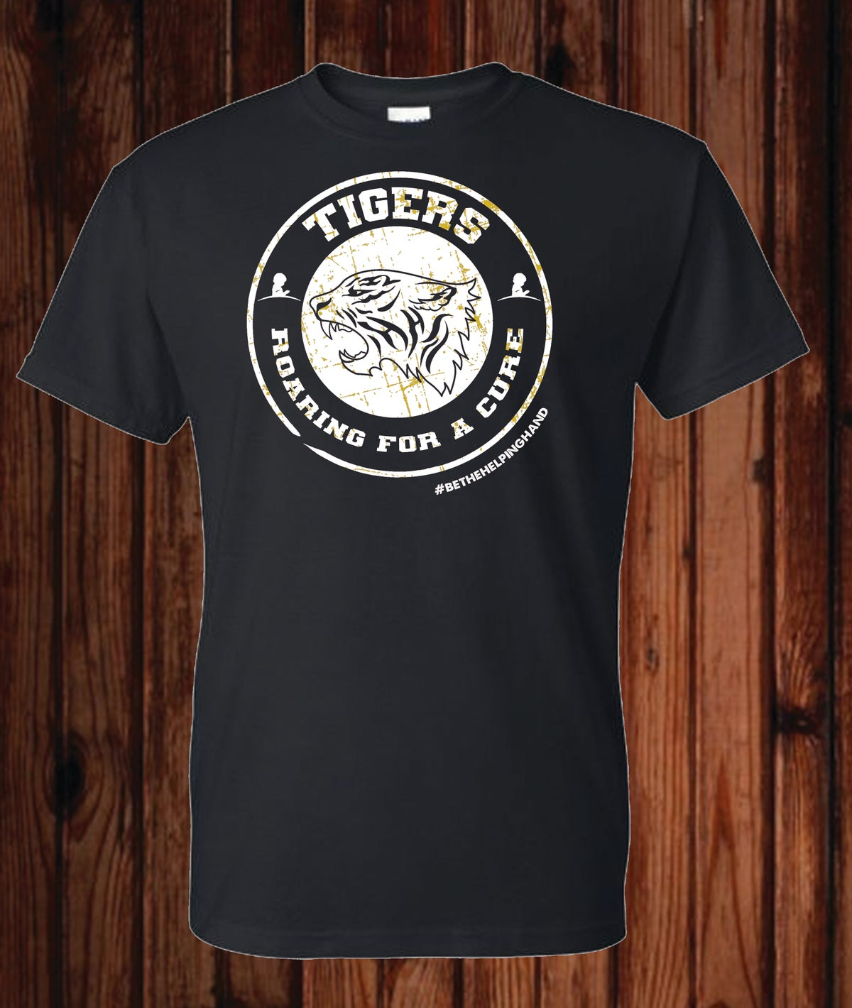 Image of Roaring For a Cure St. Jude Fundraiser T-Shirt