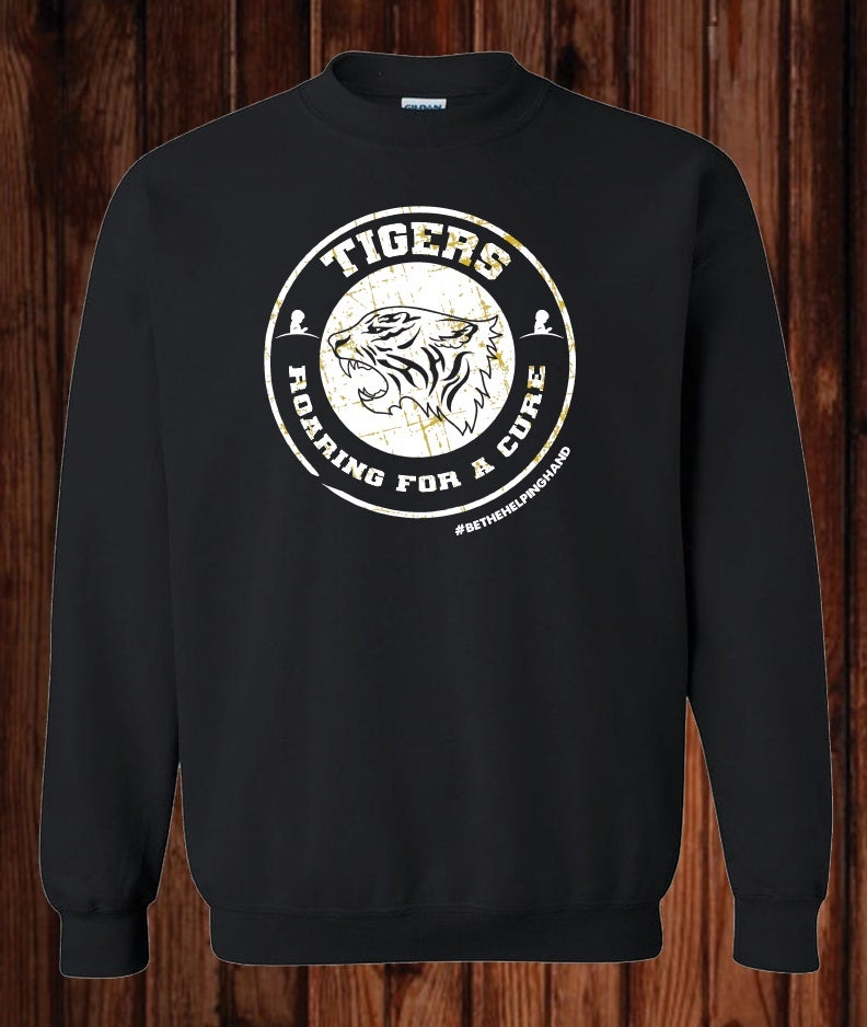 Image of Roaring For a Cure St. Jude Fundraiser Sweatshirt