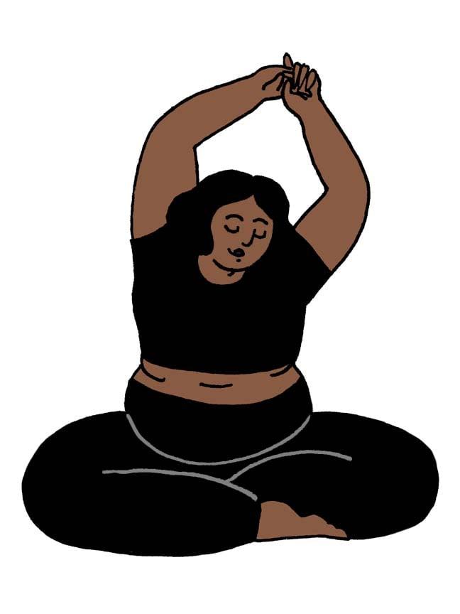 Image of Yoga babe