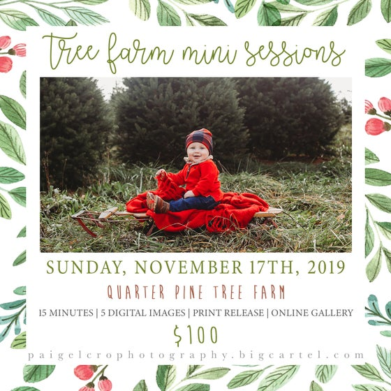 Image of Tree Farm Mini Session (November 17th)