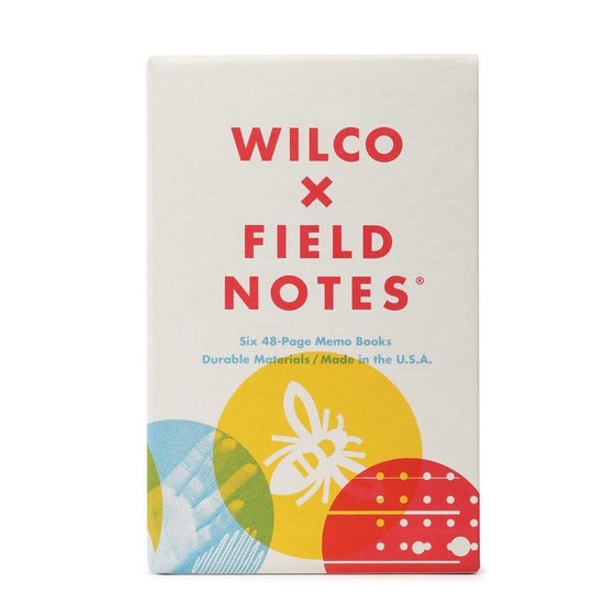 Image of Field Notes - Wilco