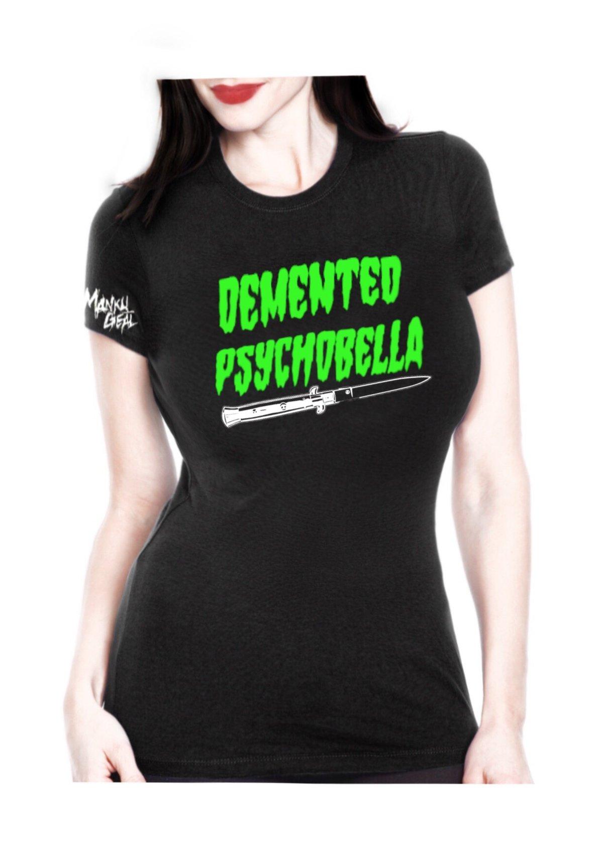 Image of Demented Psychobella Women's Tee