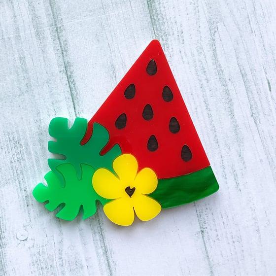 Image of Watermelon slice