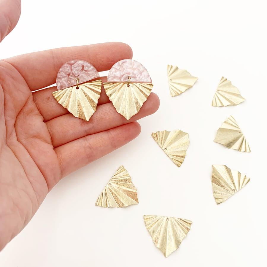 Image of 'Think Pink' Petite Arrow Earrings
