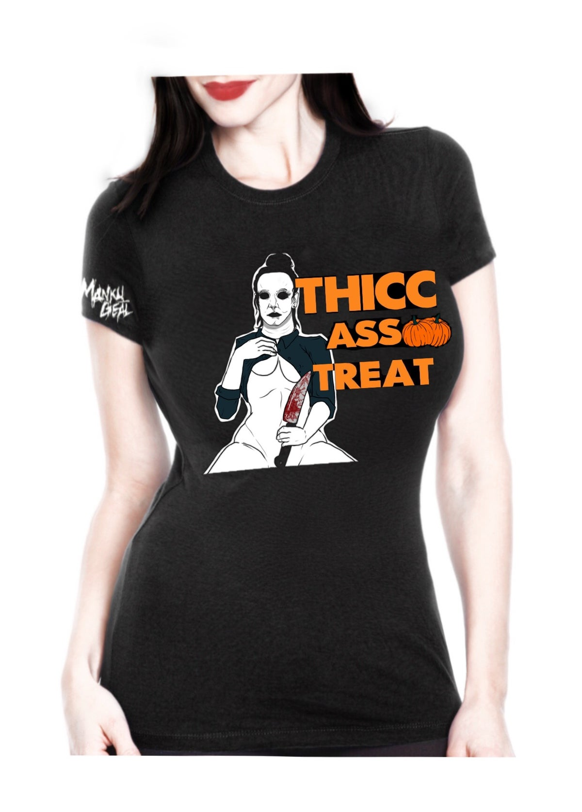 Image of Thicc As Treat Flip Up Women's Tee