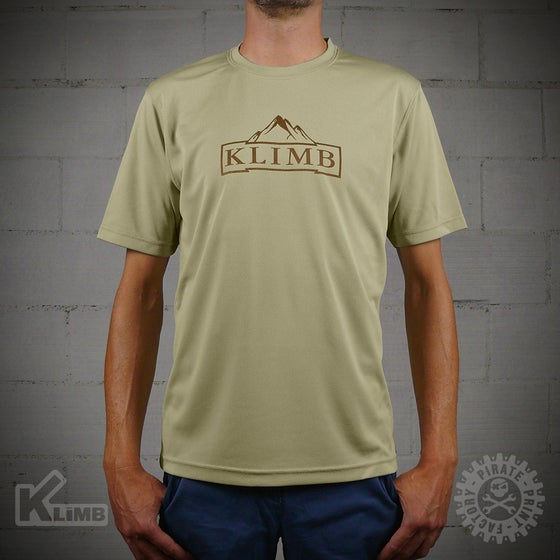 Image of T-SHIRT SPORT MOUNTAIN SAND
