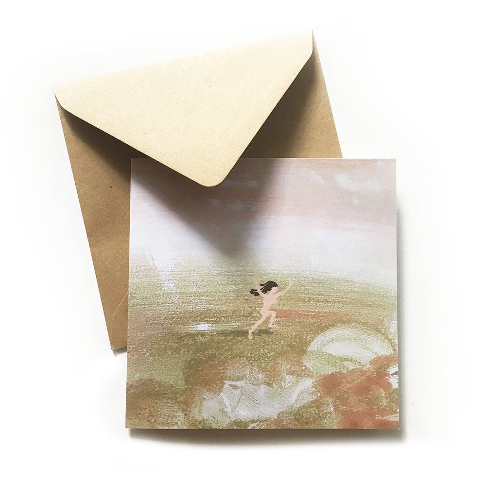 Image of 'Wahey!' Luxury greetings card