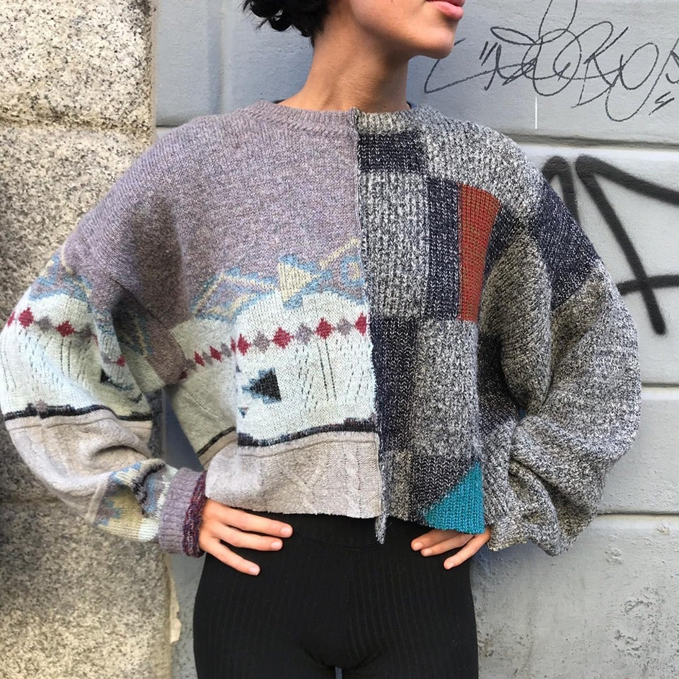 Image of PATCHWORK SWEATER #1