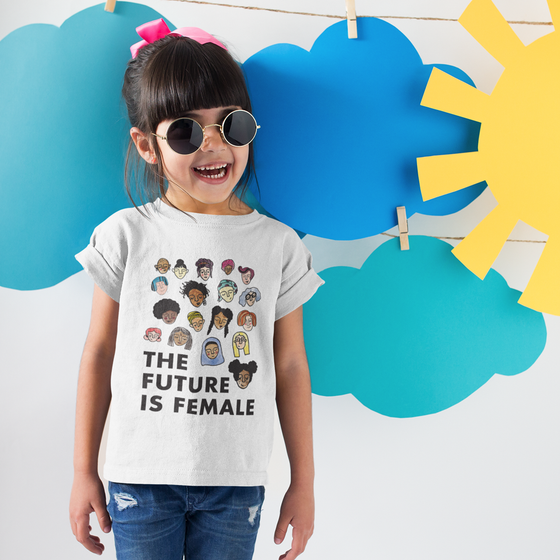 Image of The Future is Female Youth Tee