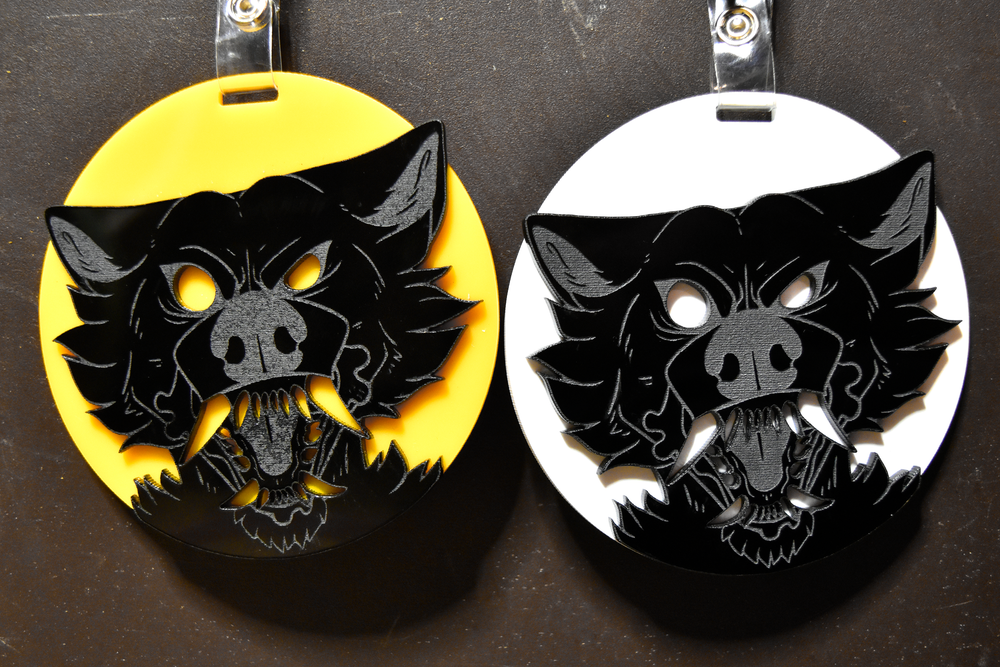 Image of Werewolf Badges