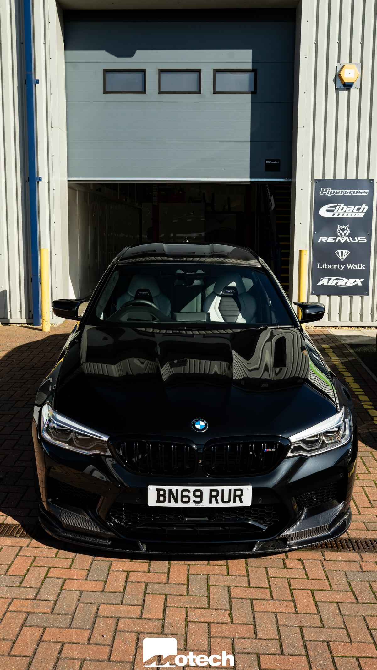 Image of BMW M5 Carbon Fibre Performance Front Splitter