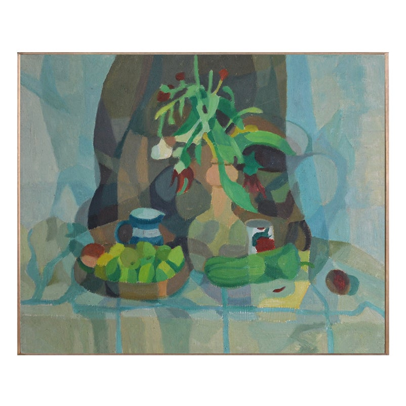 Image of Painting, 'A Bowl of Lemons,' Horas Kennedy (1917-1997)