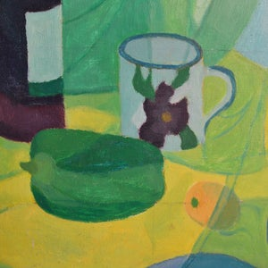 Image of Painting, 'Bottle and Pepper,' Horas Kennedy (1917-1997)