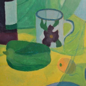 Image of Painting, 'Pan and Jug,' Horas Kennedy (1917-1997)