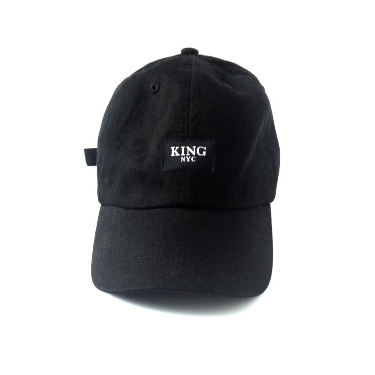 Image of KingNYC Black Label Dad Hat