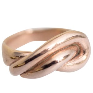 Image of Layla wide knot ring
