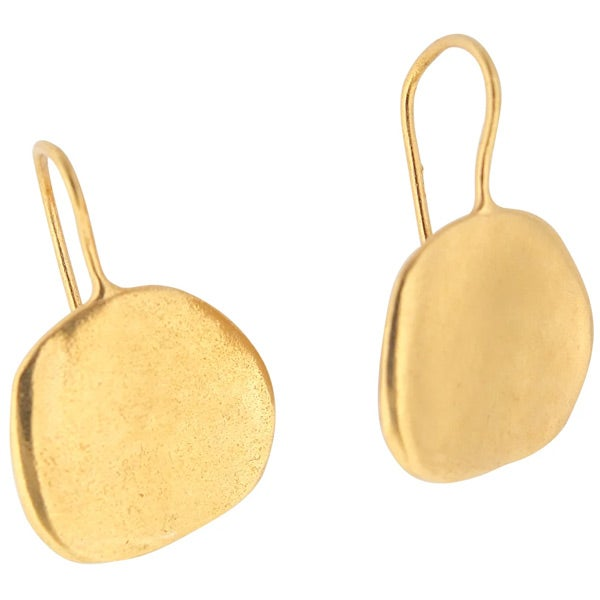 Image of Ibiza medium disc earrings