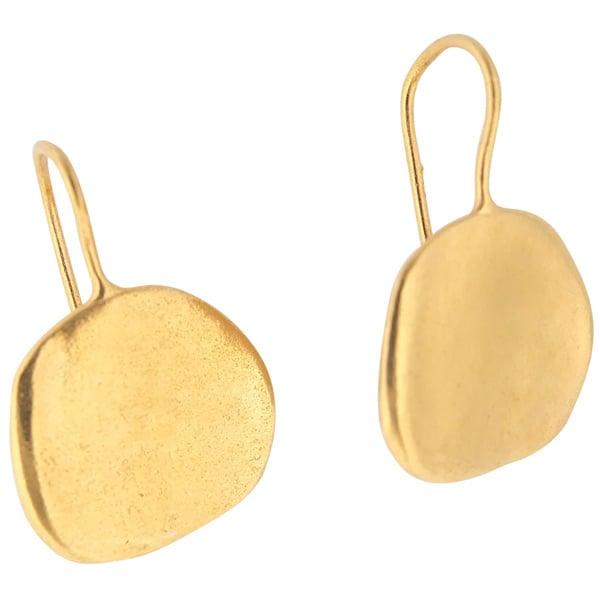 Image of Ibiza medium disc earrings