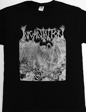 "Image of Incantation "" Rotting "" T shirt"