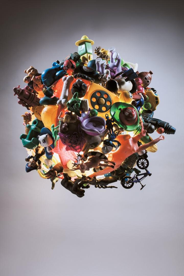 Image of Plastic Toy Globe