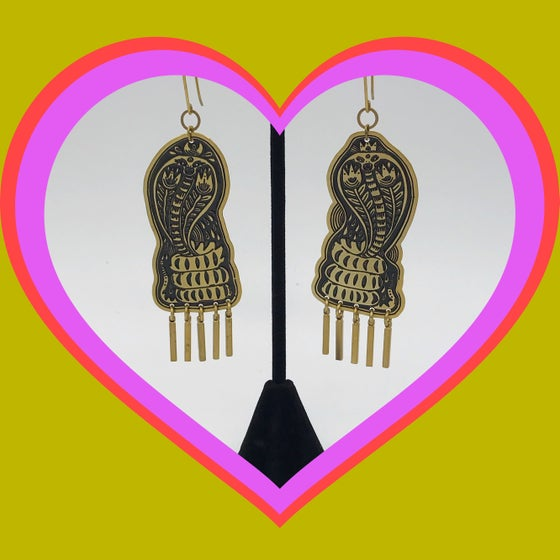Image of Cobra Earrings