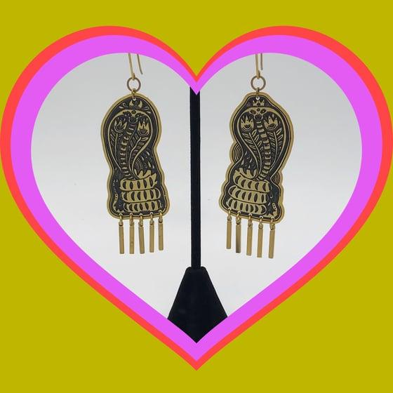 Image of Cobra Earrings