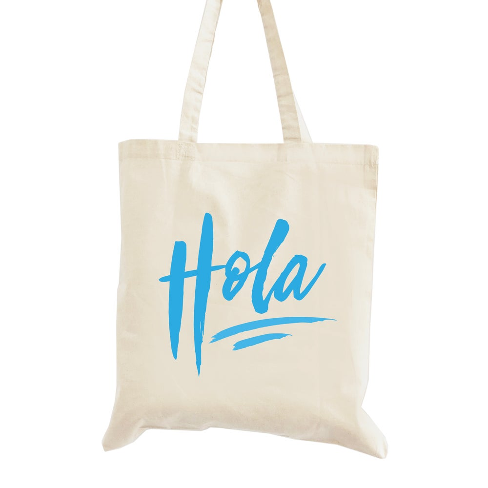 Image of Hola Wedding Welcome Tote Bag