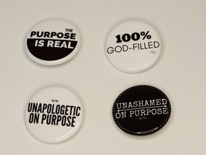 Image of Message Button: Unapologetic On Purpose