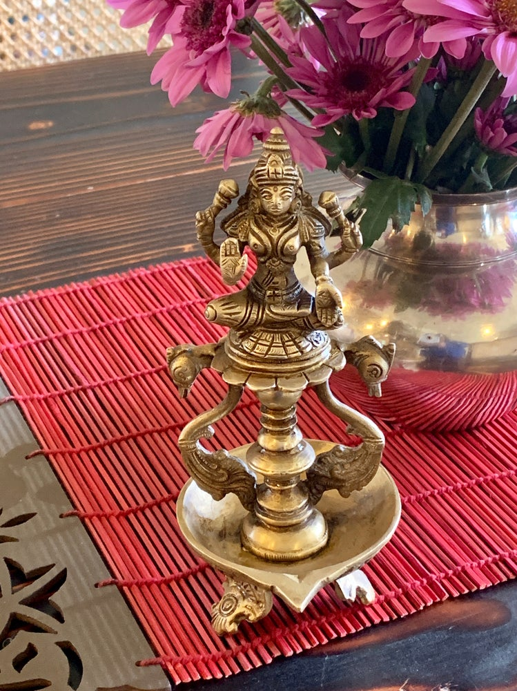 Image of Lakshmi Hansa Statue