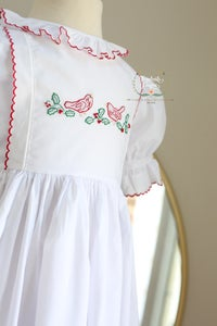 Image of Christmas Cardinals Yoke Legacy Dress