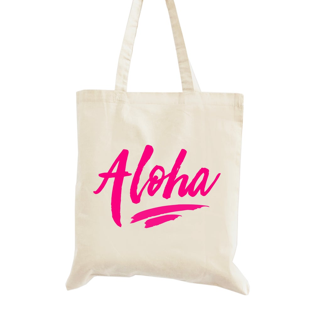 Image of Aloha Wedding Welcome Tote Bag