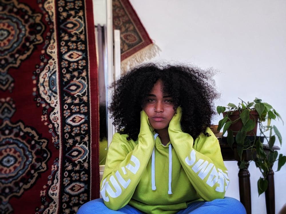 Image of Lime Green Soul'd Dreams Hoodie