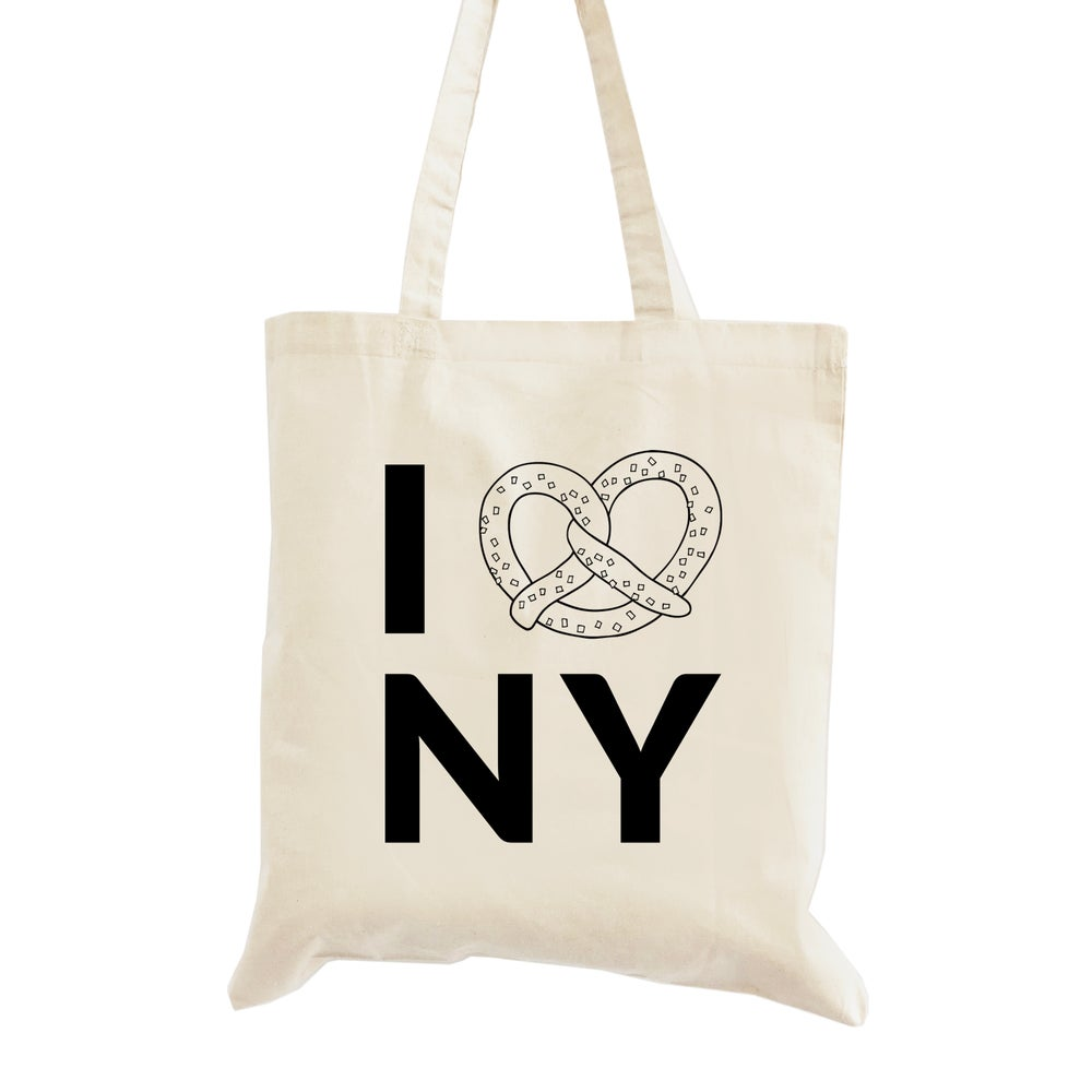 Image of I Pretzel NY Wedding Welcome Tote Bag