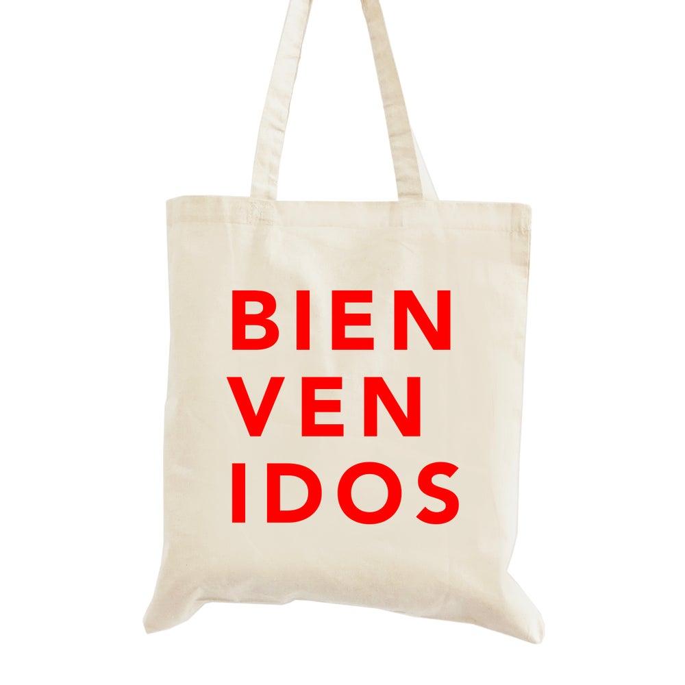 Image of Bienvenidos Wedding Welcome Tote Bag