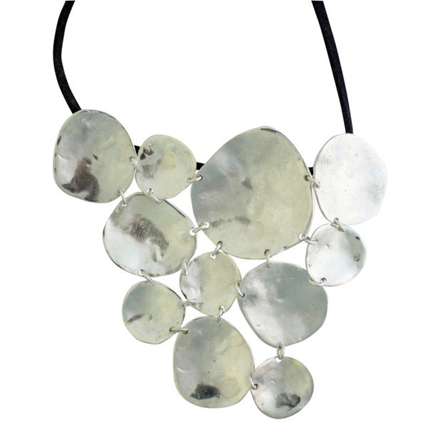 Image of Sterling silver Spectacular Ibiza necklace (C7)