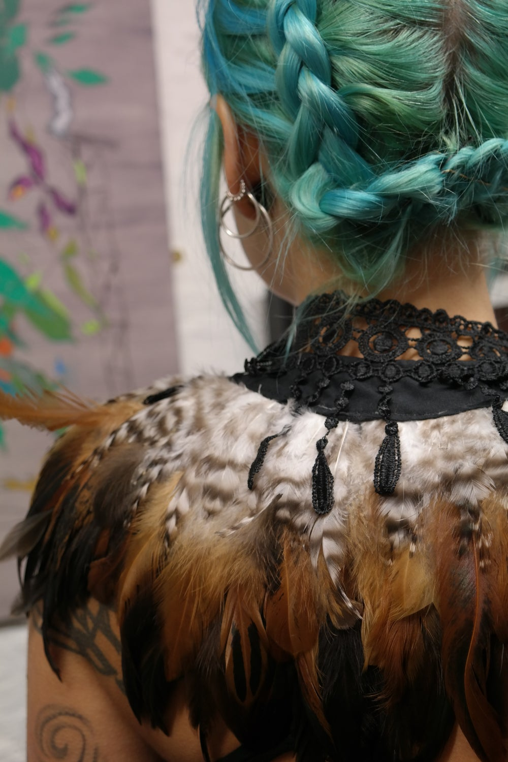 Image of Nevermore Boutique Feather Collar