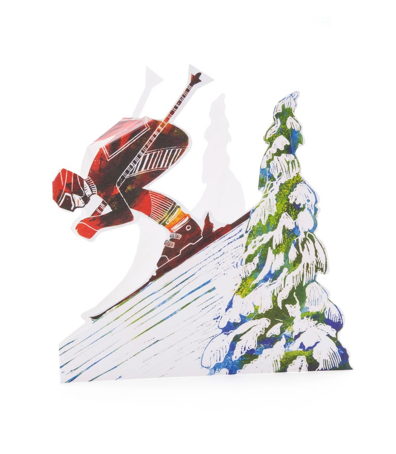 Image of Downhill Skier 3D