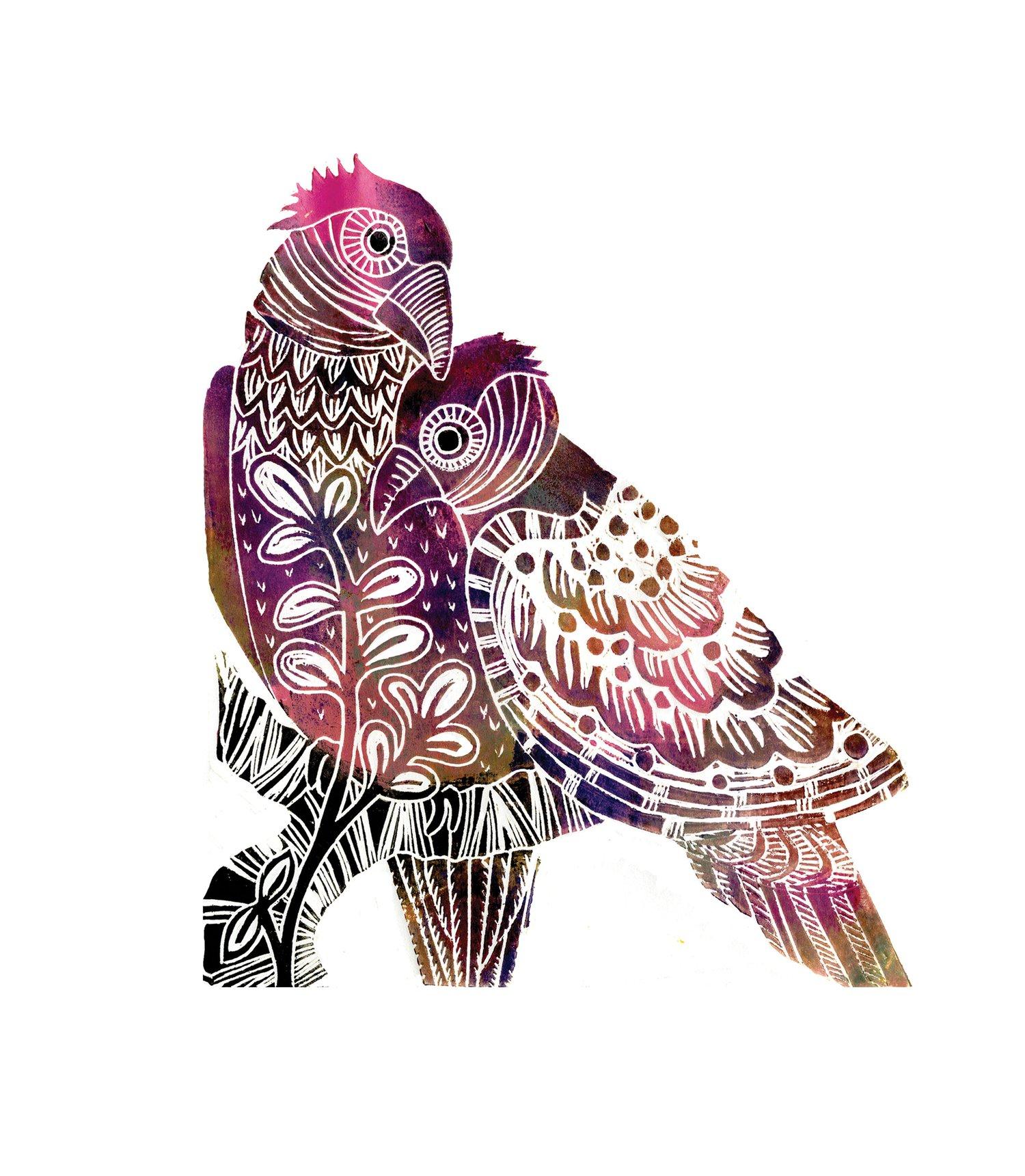 Image of Love Birds 3D