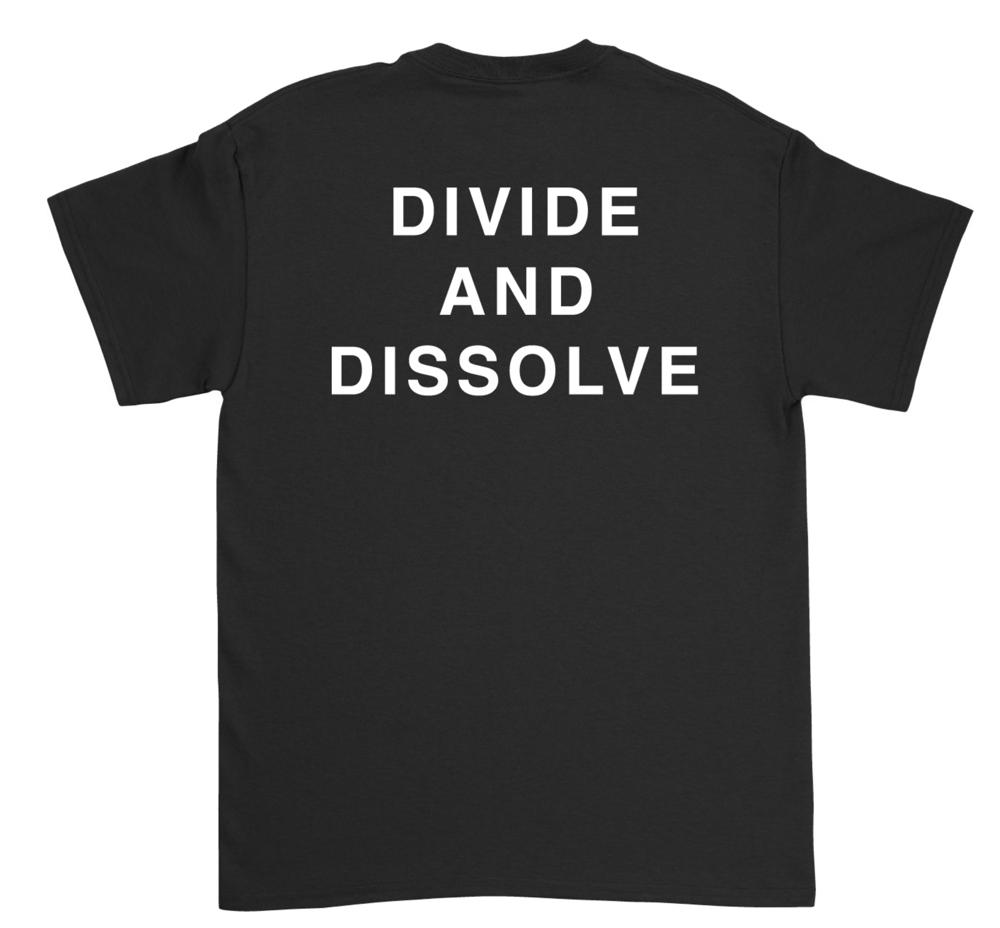 Image of Tshirt No Prisons No Slaves No Masters (Front) D//D (back)