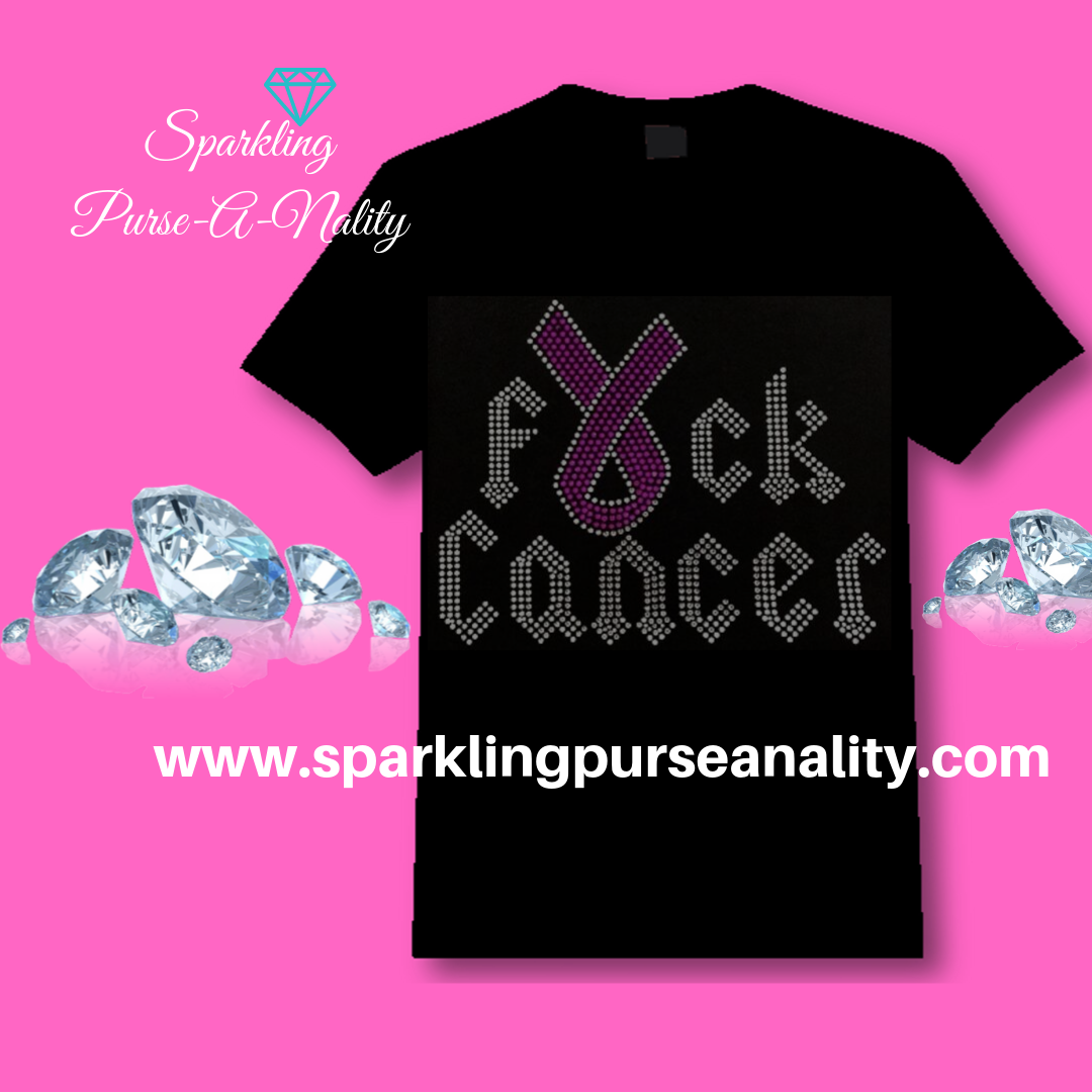 "Image of ""Sparkling"" F*ck Cancer Shirt"