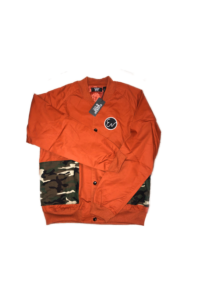 Image of CAMO PATCH BOMBER