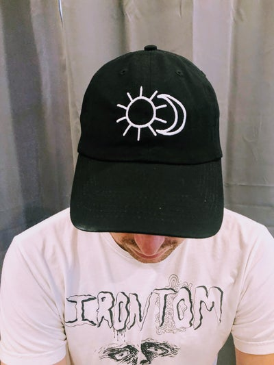 Image of sun/moon dad hat