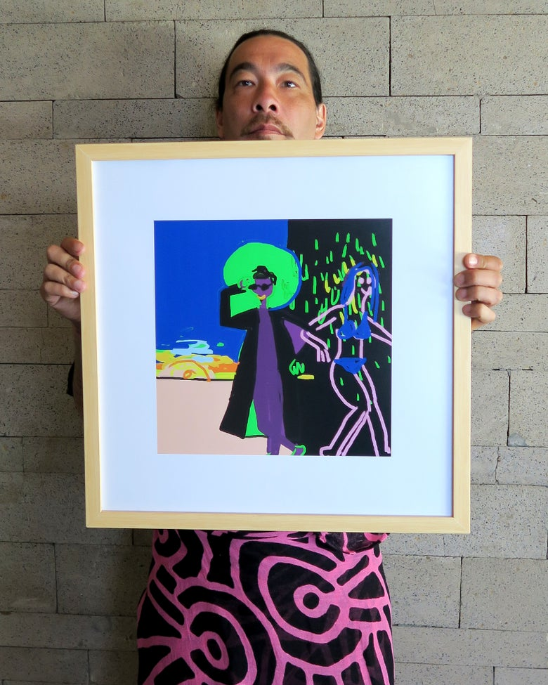 Image of Brett Chan 'neo'. Original artwork 2019