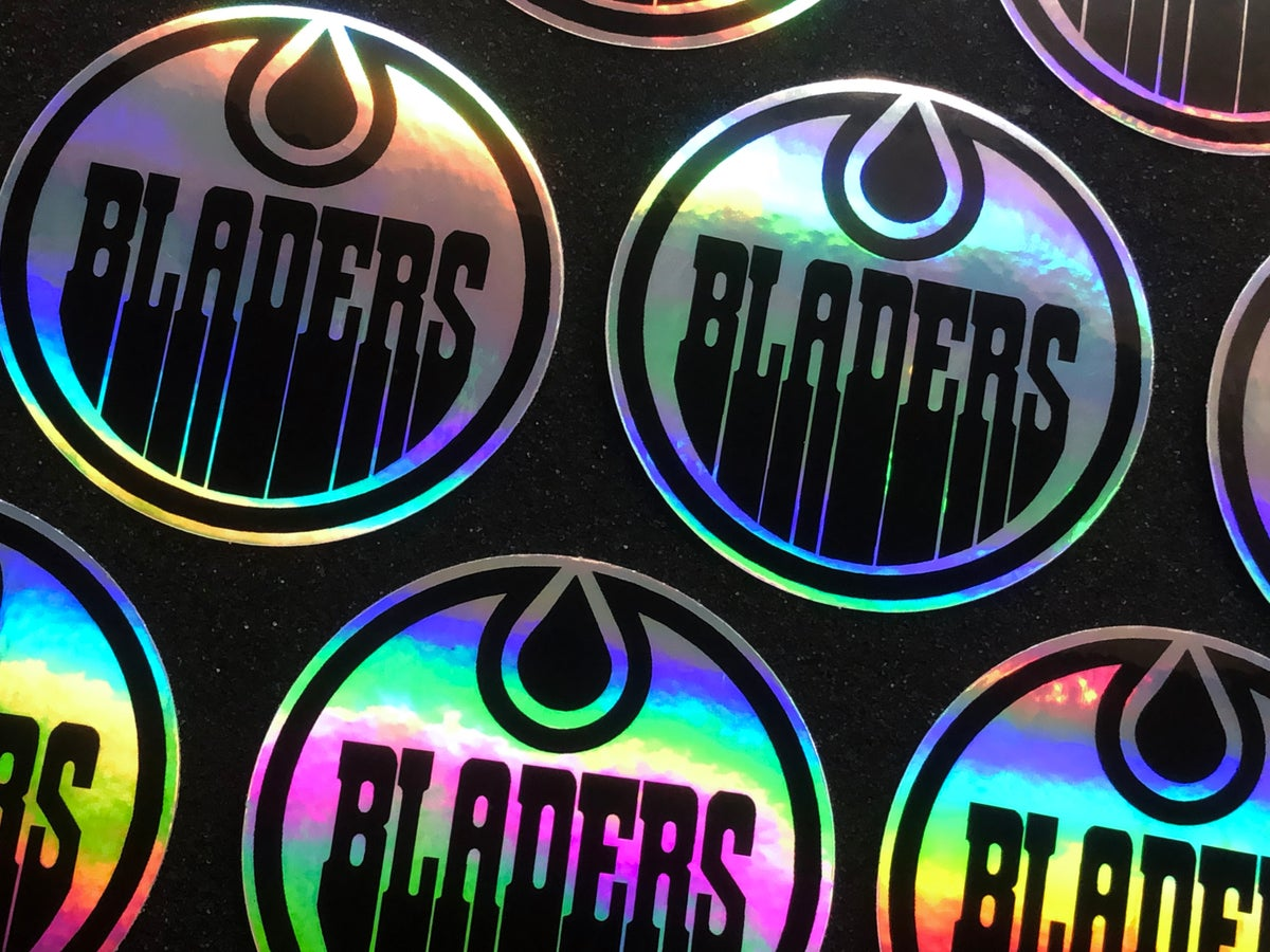 Image of Limited Edition Bladers Hologram Sticker