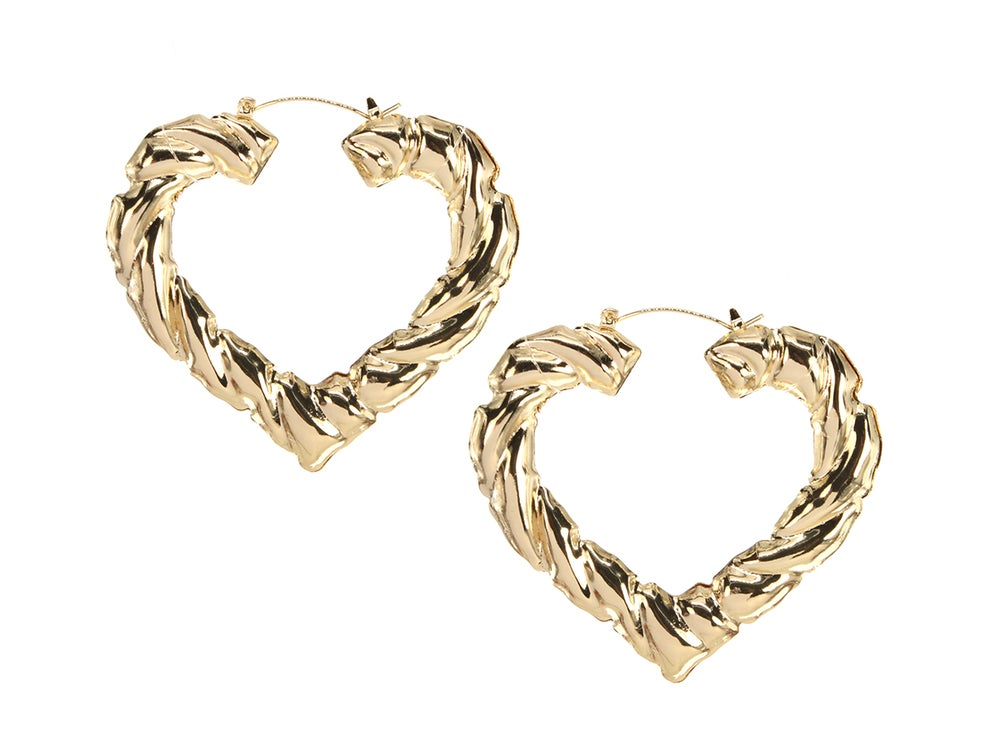 Image of Heart Bamboo Hoop