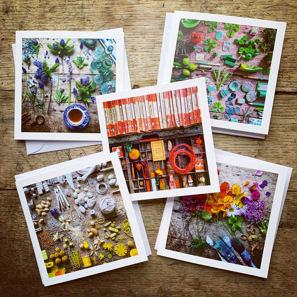 Image of 5ftinf Greetings Cards - Set 2