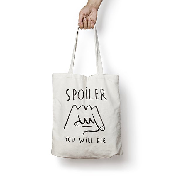 Image of ESCIF / SPOILER tote bag